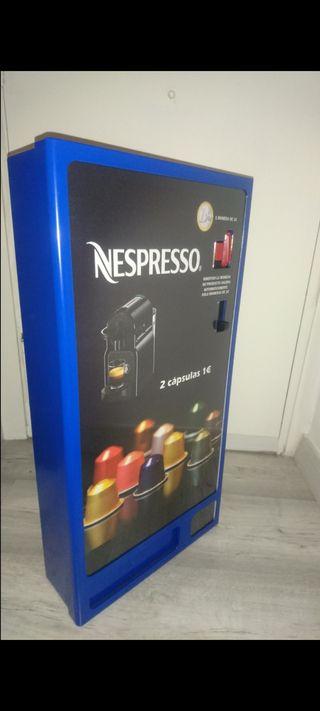 Expendedora capsulas de cafe