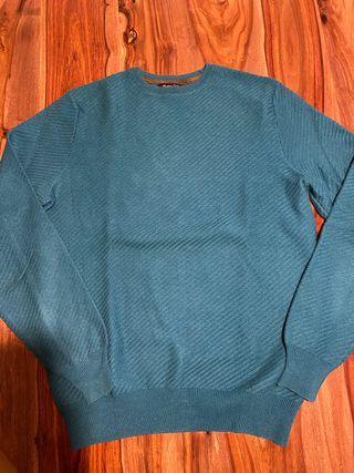 Jersey Azul Massimo Dutti talla S
