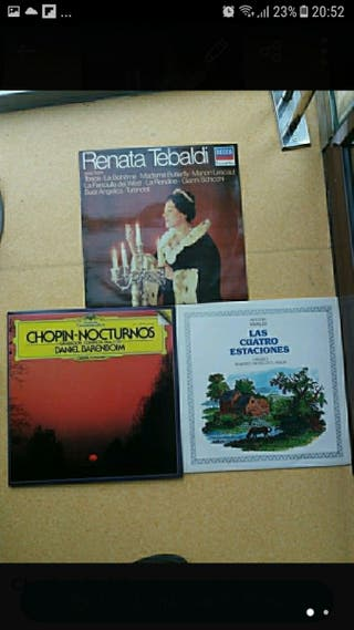 4 LP música clásica