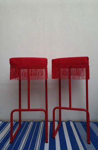 taburete alto, silla de bar