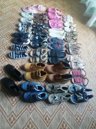 Lote zapatos Niñ@