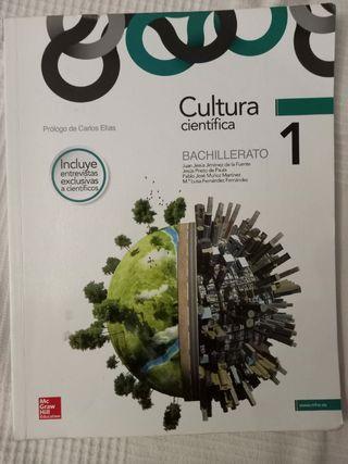 Libro cultura científica bachillerato