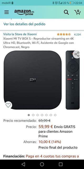 Xiomi Mi TV box
