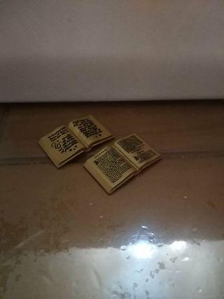 libros dorados playmobil