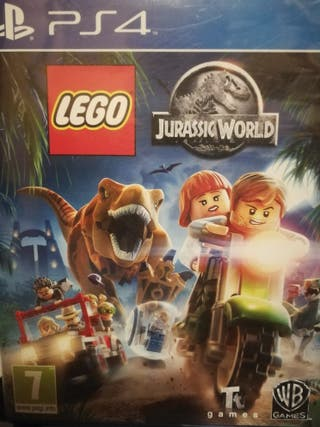 juego ps4 LEGO JURASSIC WORLD