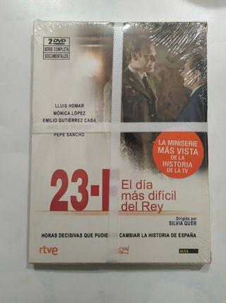 MINISERIE 23F DVD PRECINTADA