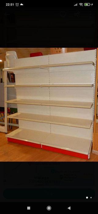 estanterias para supermercados y fruterías
