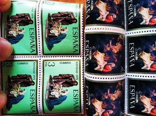 Lote sellos antiguos nuevos