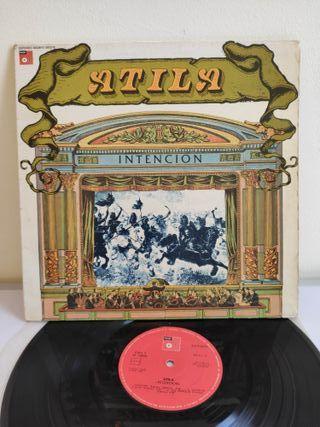 ATILA. INTENCION. BASF 1976. VINILO. 1ª EDICION