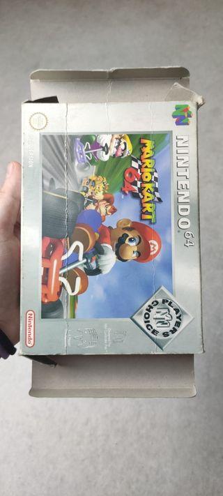 Mario kart 64 caja sola