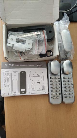 Kit piezas nuevas cerradura electrónica BL 2000