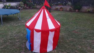 carpa circo niño