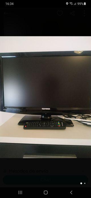 Televisor y Monitor Telefunken de 22 pulgadas