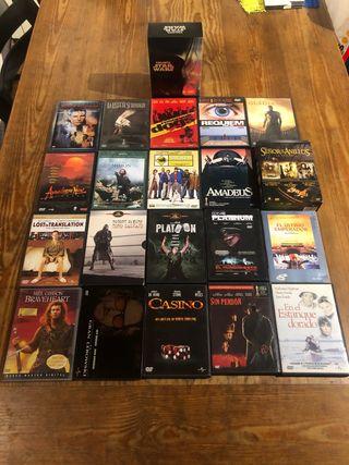 Grandes clasicos del cine. Peliculas en DVD