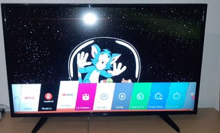 LG 4K Smart tv con garantía