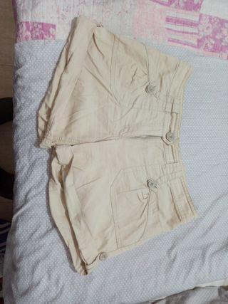pantalon corto mujer talla L