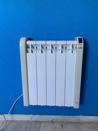Radiador calor azul