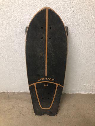 Carver surf skate