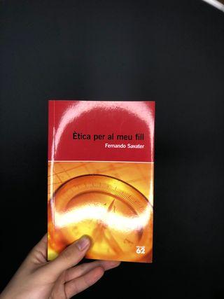 Libro Ètica per el meu fill