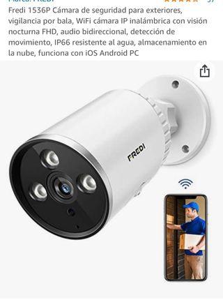 4 Cameras ip de vigilancia. Inalámbrica.