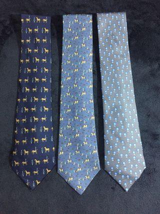 Corbatas Hermès