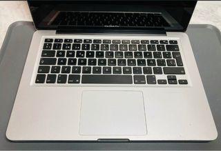 Portatil Macbook 13 Mid 2012