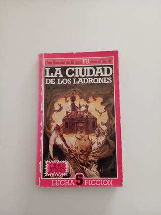 Libro juego antiguo La Ciudad de los Ladrones