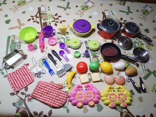 Accesorios para cocina de juguete (cocinitas)