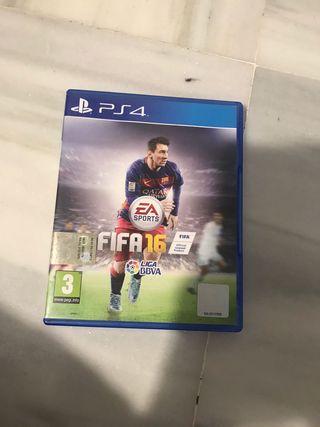 Juegos PS4 / Fifa 16