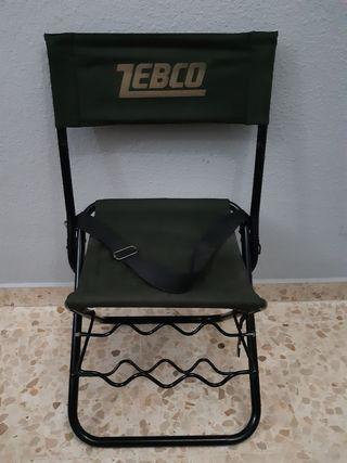 silla para pescar río o pantanos