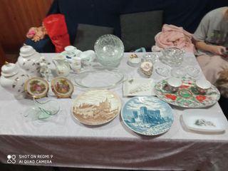 selección de cerámica de todo tipo