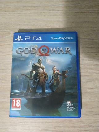 Juego god of war ps4
