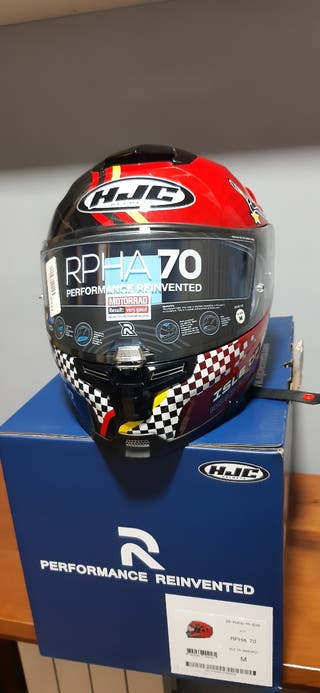 CASCO MOTO HJC RPHA 70 ISLE OF MAN