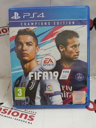 FIFA 19 , CHAMPIONS EDITION, PS4