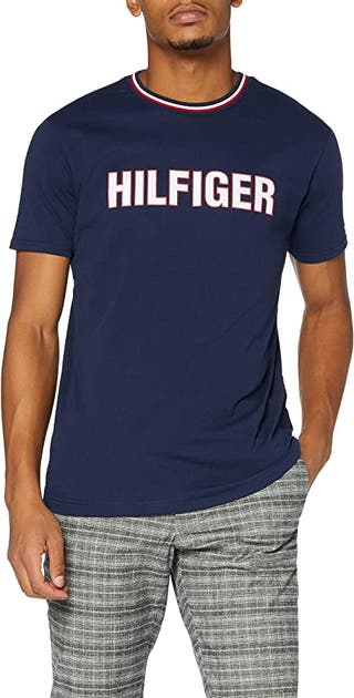 Tommy Hilfiger Cn SS tee Camisa para Hombre