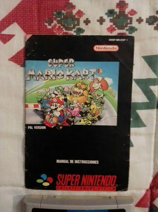 Super Mario Kart + Manual