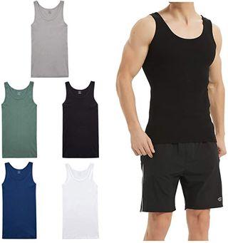 LK LEKUNI Camiseta de Tirantes para Hombre Pa