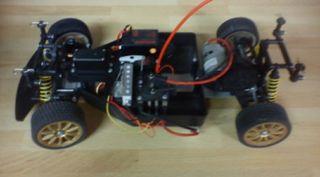 Rc coche a bateria
