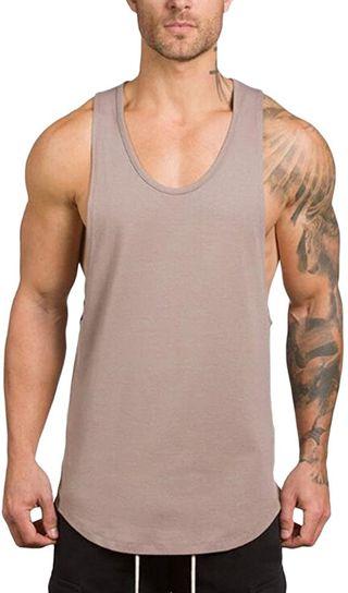 Camisetas de Tirantes Hombre Verano Moda Homb