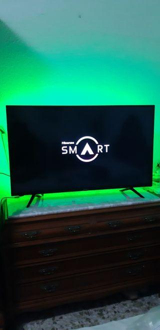 "TELEVISOR GRANDE 43"" SMART TV WIFI 4K UHD LED"