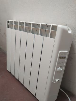 Radiador termofluido calor azul