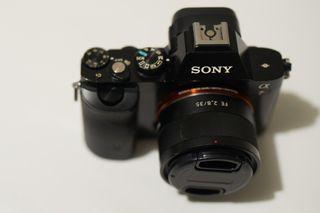 Sony Alpha 7R + Objetivo Carl Zeiss 35 mm