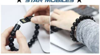 -- PULSERA CABLE MICRO USB CARGADOR