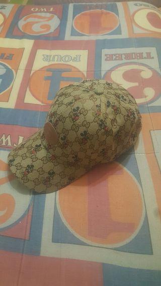 gorra beisbol gucci x disney mickey mouse