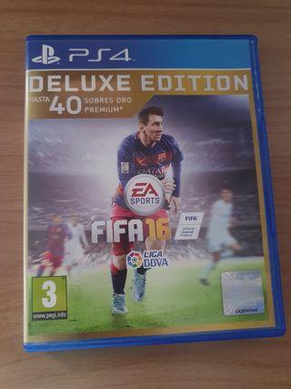 Fifa 16 Deluxe Edition para PS4