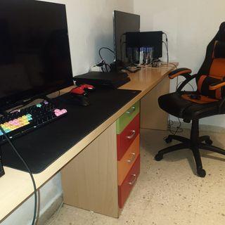 mesa de escritorio doble