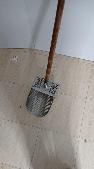 scoop acero inoxidable detector de metales