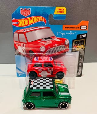 Hotwheels Mini Cooper Pack 2
