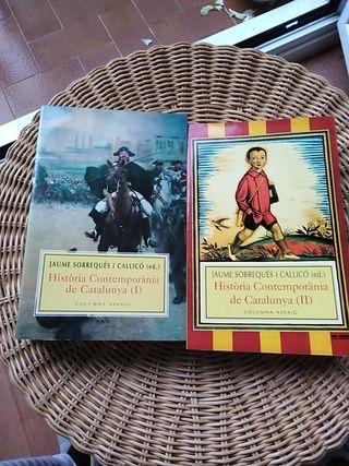 Història Contemporània de Catalunya (2 vols)