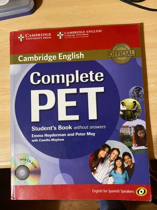 COMPLETE PET Cambridge English.